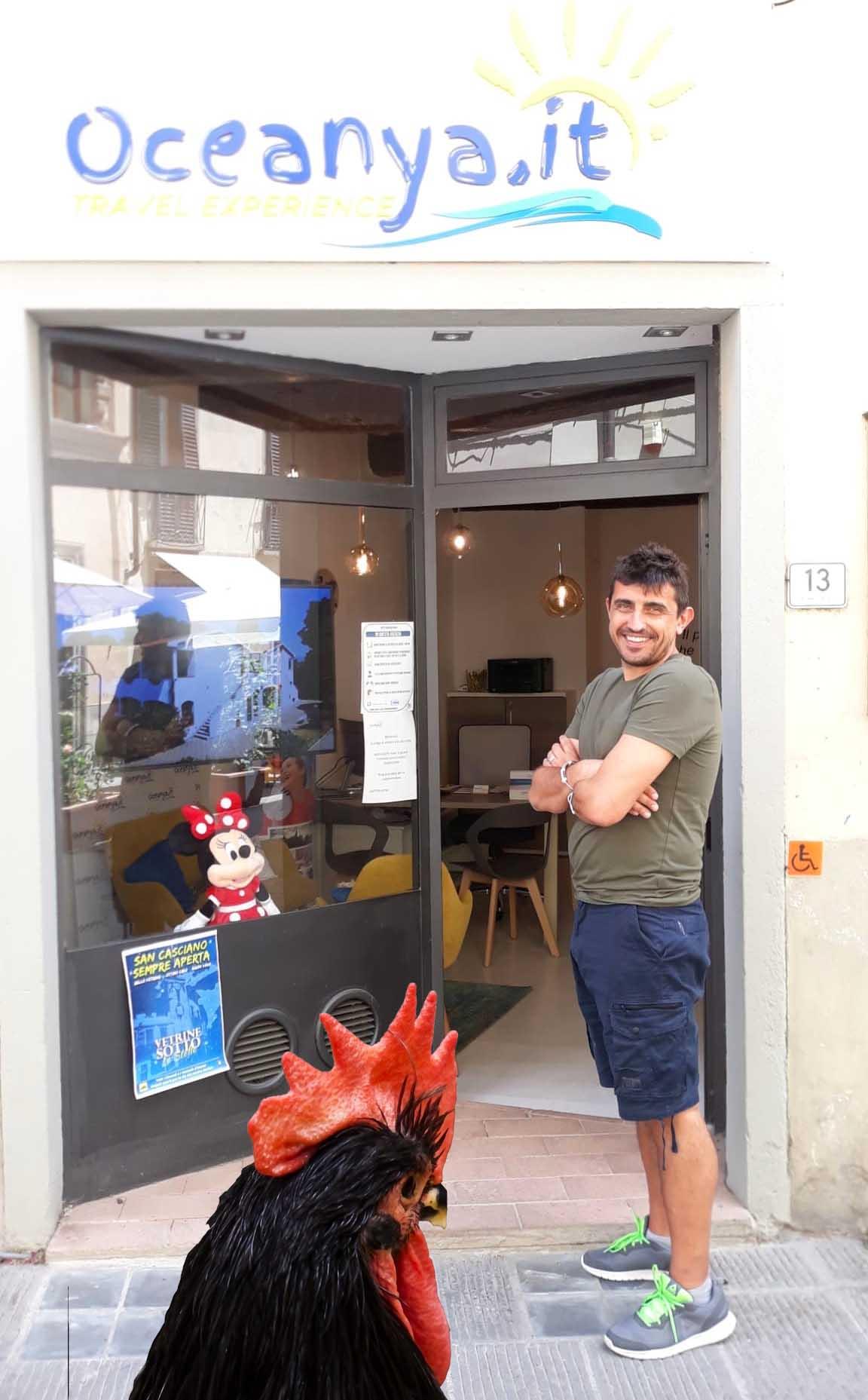 Cosimo Bacci Oceanya Agenzia Viaggi Chienti con Gallo Nero